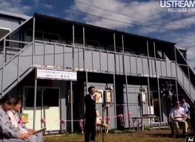 岩手県遠野市で、災害ボランティア滞在拠点「かながわ金太郎ハウス」開所式