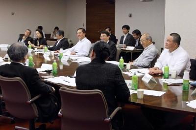 神奈川県・黒岩祐治知事が招集した知恵袋会議(平成23年6月21日)