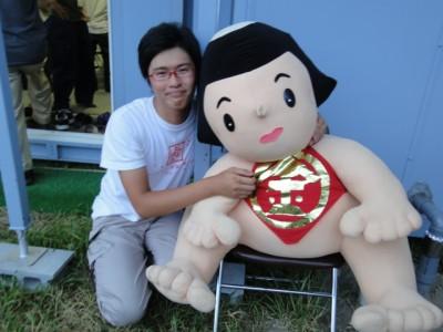 かながわ金太郎ハウスで勤務することになった安田樹さん