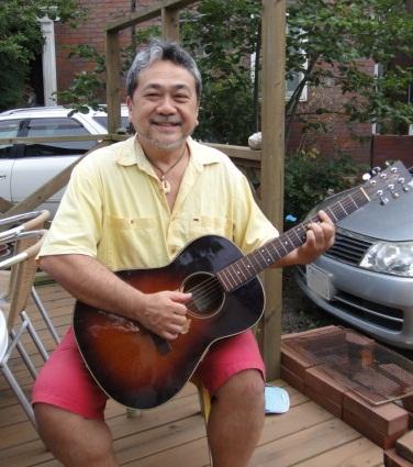 楽曲同様、自然体で息の長い被災地支援を続けようと語るテミヤンさん