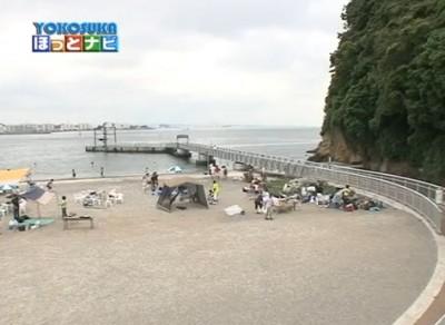 猿島海水浴場/YOKOSUKAほっとナビより