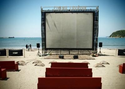 第3回逗子海岸映画祭(Fashionsnap.comより)