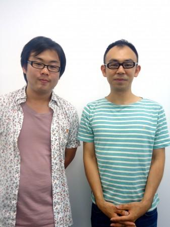 NPO法人「湘南市民メディアネットワーク」の中野晃太さん、加藤修大さん