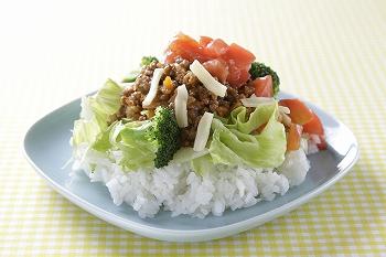 「元気SUN(さん)が健康応援!野菜たっぷりタコライス」(相模原シティセールスホームページより)