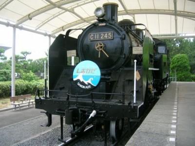 C11型蒸気機関車[しおかぜ号](藤沢市 ホームページより)
