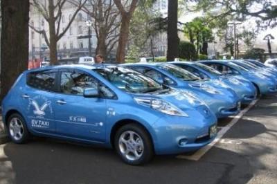 EVタクシー(神奈川県 ホームページより)