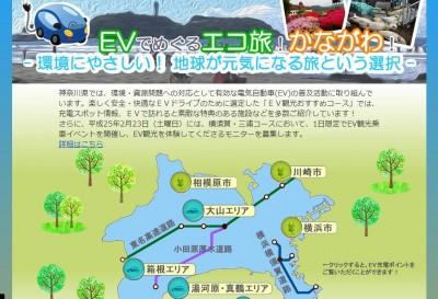 Vでめぐるエコ旅!かながわ!- 環境にやさしい!地球が元気になる旅という選択 -(神奈川県ホームページより)