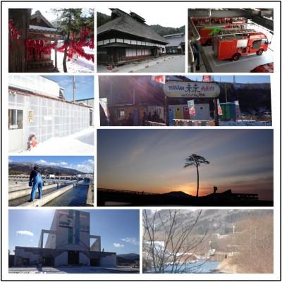 岩手県陸前高田市及び同県遠野市の風景(かながわ東日本大震災ボランティアステーション ホームページより)